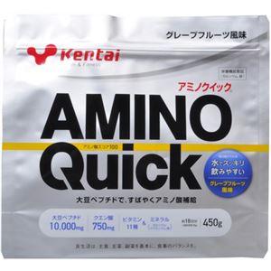 (お徳用 2セット) Kentai(ケンタイ) アミノクイック(大豆ペプチド) グレープフルーツ風味 450g ×2セット - 拡大画像