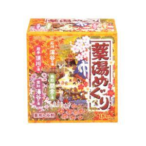 アース薬湯めぐり 30g×18包(入浴剤)【6セット】 - 拡大画像