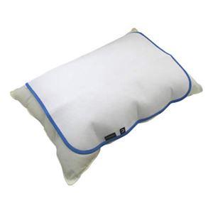 (お徳用 2セット) スペース涼シート 枕カバー ×2セット - 拡大画像