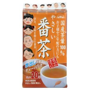 (まとめ買い)健茶館 国産茶葉やさしい番茶 5g×20袋×5セット - 拡大画像