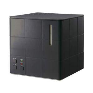 アピックス スチーム式アロマ加湿器 AHD-030-BK(ブラック) - 拡大画像