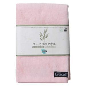 ユーカリのウォッシュタオル ピンク 【6セット】 - 拡大画像