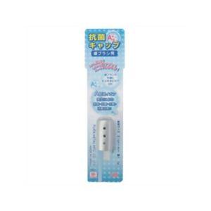 スイト びっくり 歯ブラシキャップ カラータイプ (1個入) シルバー 【2セット】 - 拡大画像