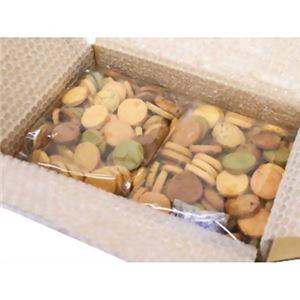 (お徳用 8セット) 豆乳おからゼロクッキー 10種ベーシック500g ×2袋 ×8セット - 拡大画像