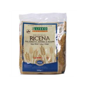 (まとめ買い)LISKO ブルガー小麦 粗挽き 500g×6セット - 拡大画像