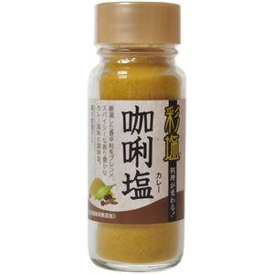 (お徳用 12セット) 彩塩 カレー 74g ×12セット - 拡大画像