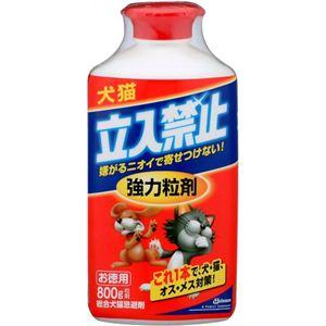 (まとめ買い)犬猫立入禁止 強力粒剤 徳用 950g×2セット - 拡大画像