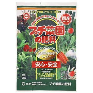 (まとめ買い)プチ菜園の肥料 250g×6セット - 拡大画像