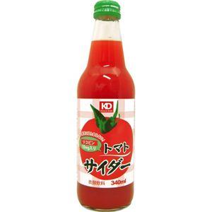【ケース販売】トマトサイダー 340ml×20本 - 拡大画像
