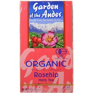 (まとめ買い)ガーデンオブアンデス ハーブティー ローズヒップ 20袋×3セット - 拡大画像