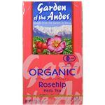 (まとめ買い)ガーデンオブアンデス ハーブティー ローズヒップ 20袋×4セット