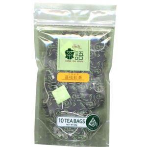 (まとめ買い)茶語 レイシ紅茶 ティーバッグ×4セット - 拡大画像