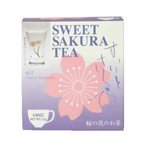 (まとめ買い)スイートサクラティー 桜花 6袋×5セット - 拡大画像