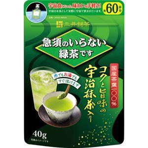 (まとめ買い)急須のいらない緑茶です 袋 40g×3セット - 拡大画像