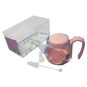 (まとめ買い)DIA ホルダー付吸呑器ピンク×3セット - 拡大画像