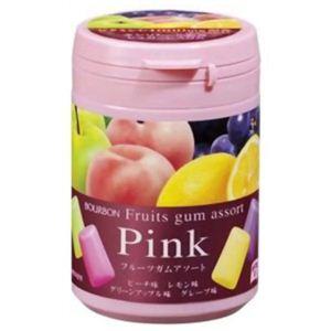 フルーツガムアソート ボトル(ピンク) 【11セット】 - 拡大画像
