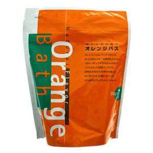 (まとめ買い)オレンジバス みかんのお風呂 35g×7パック(入浴剤)×3セット - 拡大画像