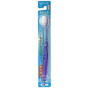 (お徳用 4セット) マイナスイオン 健康宣言 歯ブラシ ふつう 超先細毛 ×4セット - 拡大画像