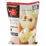 (まとめ買い)お菓子百科 蒸しパンミックス 1kg×4セット