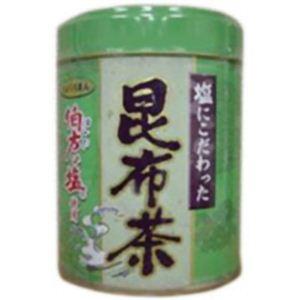 (まとめ買い)塩にこだわった昆布茶(伯方の塩使用) 70g×8セット - 拡大画像