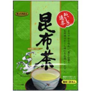 (まとめ買い)玉露園 スティック昆布茶 2g×28本×5セット - 拡大画像