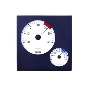 タニタ 温湿度計 TT-534-BK 【2セット】 - 拡大画像