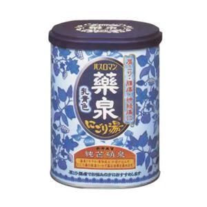 (まとめ買い)薬泉バスロマン にごり湯 乳青色 650g(入浴剤)×6セット - 拡大画像