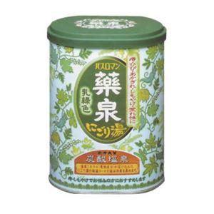 (まとめ買い)薬泉バスロマン にごり湯 乳緑色 650g(入浴剤)×6セット - 温泉グッズ専門店