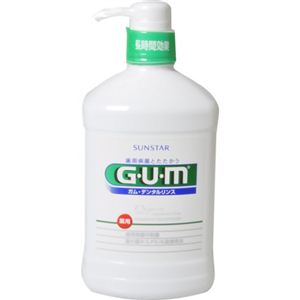 GUM(ガム) 薬用 デンタルリンス レギュラータイプ 960ml【3セット】 - 拡大画像