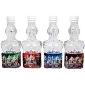 【ケース販売】キャラクターボトルウォーター ウルトラマン 350ml×24本(4種×6本) - 拡大画像