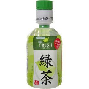 【ケース販売】FRESH 緑茶 275ml×24本 - 拡大画像