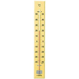 大型木製寒暖計 SK式60型 - 拡大画像