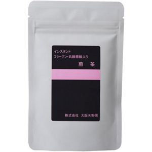 インスタント 煎茶 コラーゲン・乳酸菌入り 40g - 拡大画像