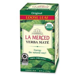 有機マテ茶(ルースリーフ) - 拡大画像