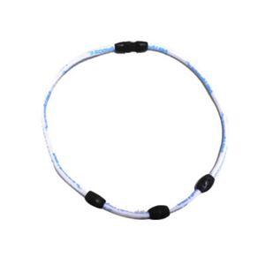 ボディオーラ・ネオジュウムネック3 ホワイト45cm - 拡大画像