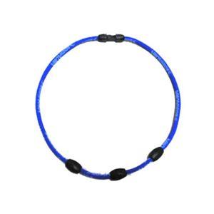 ボディオーラ・ネオジュウムネック3 ブルー52cm - 拡大画像
