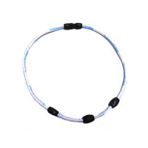 ボディオーラ・ネオジュウムネック3 ホワイト52cm - 拡大画像