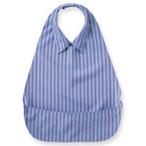 うきうきエプロン 軽・サラシャツ 403779 ブルー - 拡大画像