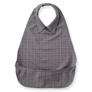 うきうきエプロン 軽・サラシャツ 403779 グレー - 拡大画像