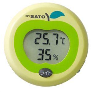 携帯用デジタル温湿度計 ベビーガード PC-5310TRH - 拡大画像