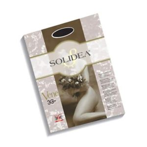 SOLIDEA(ソリディア) 加圧パンティストッキング VENERE 30デニール ブラック XL - 拡大画像