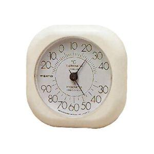 ソフィア 温湿度計 - 拡大画像