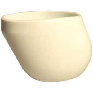 (まとめ買い)介護食器ケアメイト 動作誘導型 湯呑み ホワイト×3セット - 拡大画像