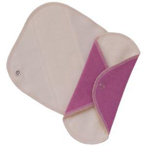 tipua(ティプア) 布ナプキン 両面つかえるライナー 軽い日用 2枚入 - 拡大画像