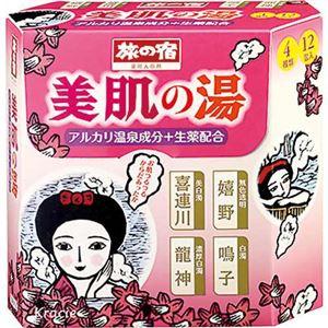 旅の宿 美肌の湯シリーズパック 12包入(入浴剤) - 温泉グッズ専門店