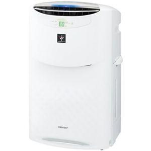 シャープ 高濃度プラズマクラスター25000搭載 加湿空気清浄機 KI-AX80-W ホワイト系 - 拡大画像