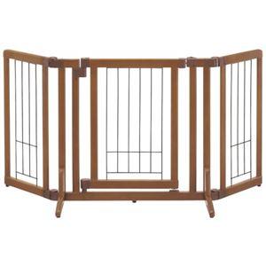 (お徳用 2セット) リッチェル 木製おくだけドア付ゲート S ×2セット - 拡大画像