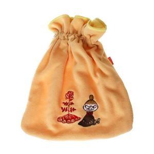 ムーミン 湯たんぽカバー大 ミイ オレンジ - 拡大画像