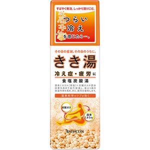 (お徳用 4セット) きき湯  食塩炭酸湯 360g ×4セット - 拡大画像