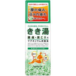 きき湯 マグネシウム炭酸湯 360g - 温泉グッズ専門店